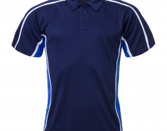PP 1272 – POLO WITH CONTRAST INNER PLACKET
