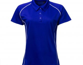 PP 1268 – GIRLS FIT POLO WITH PIPING