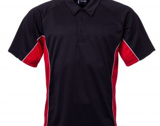 PP 1201 – EYELET PANELLED POLO