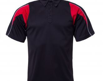 PP 1224 – BOYS PANELLED POLO WITH VENTS